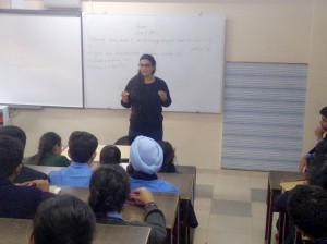 Session On Stress and Us: Vivek High School, Chandigarh