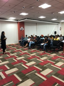 "A session on ""Stress: Let's learn to embrace it !"" with Airtel, Chandigarh"