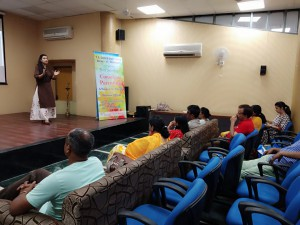 Session On Conscious Parenting at T S central State Library, Chandigarh
