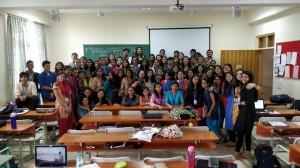2 day workshop on Rorschach Inkblot at Christ deemed to be University, Bengaluru